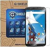 G-Shield Nexus 6 Pellicola Protettiva, Pellicola Protettiva in Vetro Temperato [9H Durezza Ultra Resistente] [HD Alta Trasparente] [Nessuna Bolla] Per Motorola Google Nexus 6