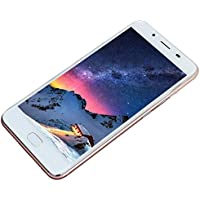 "Smartphones Telefono Moviles Libres Baratos, BeautyTop 5.5"" Ultrathin Android5.1 Octa-Core 3G + 32G 4G/GSM WiFi Bluetooth Dual SIM Dual Camera Smart Phone (Oro rosa, Tamaño libre)"