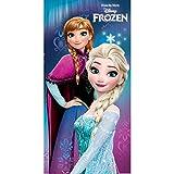 Serviette De Bain - De Plage La Reine Des Neiges Frozen Disney Elsa Anna Microfibre...