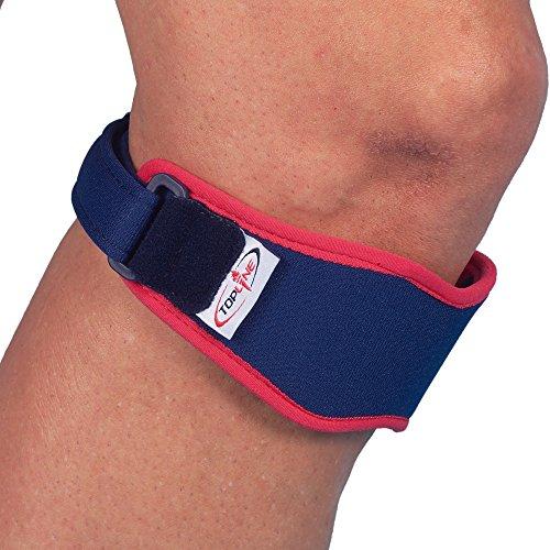 Patella-Riemen mit Silikon Briefblock Schmerzlinderung für patellaspitzensyndrom, Patella-chondromalazie, osgood-schlatter, Patella Unterstützung Bei sportlichen Aktivitäten