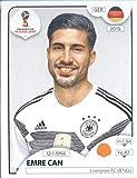 World Cup Aufkleber Russland 2018Panini 442Emre Can Deutschland Fußball Aufkleber
