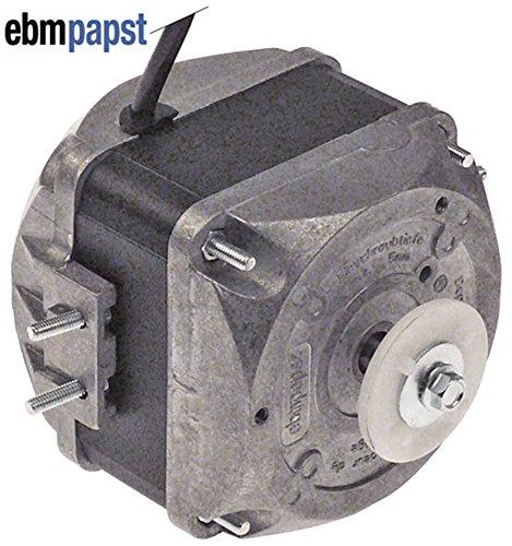 EBM-PAPST M4Q045-DA01-75 Lüftermotor 230V 18W 1300/1550U/min 50/60Hz 5 Befestigungsoptionen Breite 78mm Geschwindigkeiten 2