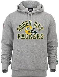 New Era - NFL Green Bay Packers College PO Hoodie - light grey heather