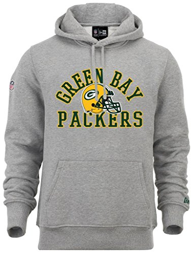 New Era - NFL Green Bay Packers College PO Hoodie - Light Grey Heather - S