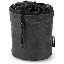 Brabantia 105760 - Bolsa para pinzas con mosquetón para colgar, color negro