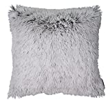 TOM TAILOR 564259 T-Fluffy Kissenhülle, Polyester, grau, 47 x 47 x 1 cm