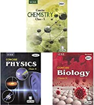 Selina ICSE Concise Chemistry for Class X (2020-2021) Session +Selina ICSE Concise Physics for Class X (2020-2