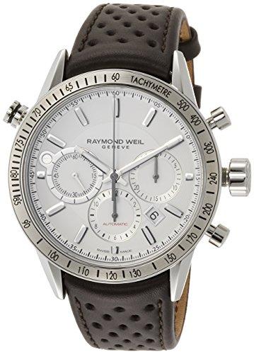 Raymond Weil Freelancer Cadran Blanc Montre de chronographe pour Homme 7740-stc-30001