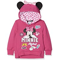 Disney Official Minnie Mouse Girls Hoodie Sweatshirt, Jumper - New 2018