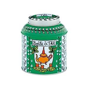 DERRIERE LA PORTE - Boite à thé en vrac Papillon vert -