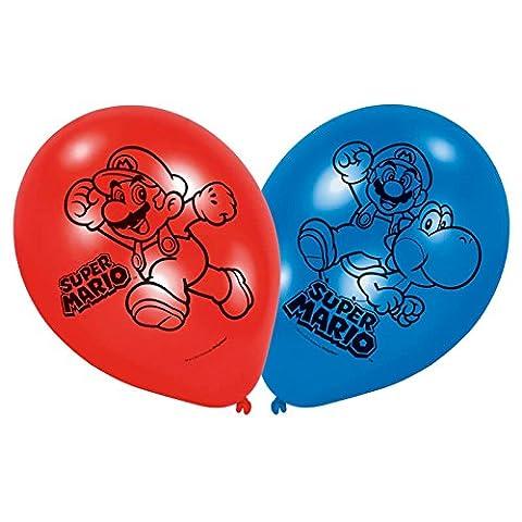 NEU Luftballon Super Mario, 6 Stück
