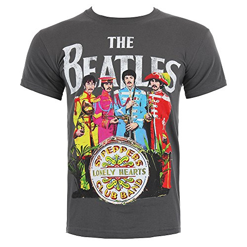 The Beatles Sgt Pepper Stampa T Shirt - Small