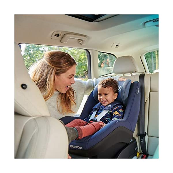 Maxi-Cosi Pearl Toddler Car Seat Group 1, ISOFIX Car Seat, Compact, , 9 Months - 4 Years, 9-18 kg, Nomad Sand Maxi-Cosi Suitable to use from 9 to 18 kg (approximate 9 months to 4 years old) Use with the Maxi-Cosi FamilyFix base, which confirms correct installation through interactive feedback Easy-in harness stays open to easily get the child in and out in seconds 6