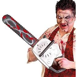 Guirca Halloween 70cm Plastique Sucette Chaîne de tronçonneuse