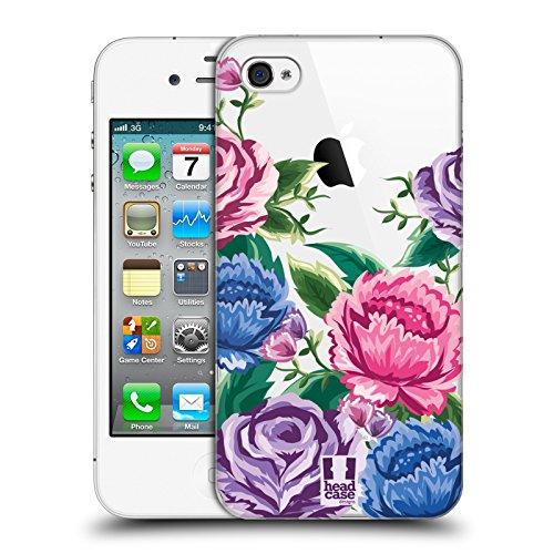Head Case Designs Tropical Puissance De Fleur Étui Coque D'Arrière Rigide Pour Apple iPhone 6 / 6s Fleurir