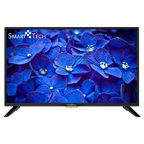 Smart-Tech SMT-32Z1TS Televisor LED Listo para HD de 32 Pulgadas, Reproductor Multimedia a Través de Puerto USB y Puerto HDMI (Sintonizador Triple DVB-T/C / T2 / S / S2, Negro)