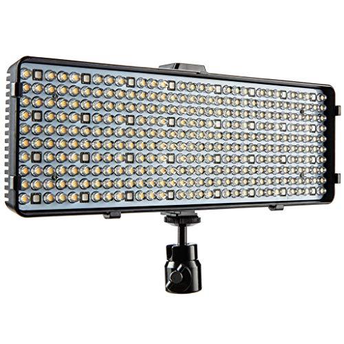 Polaroid RGB LED Kamera & Camcorder Licht - 99 Stufen Kaltes & warmweiß oder bunt für Besondere Effekte, Ambiente & Hintergrund-Beleuchtung - Bluetooth oder manuelle Steuerung