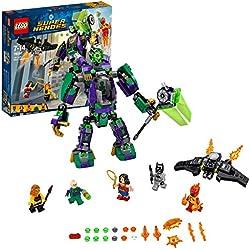 Super Heroes Lego Duello Robotico con Lex Luthor, Multicolore, 76097