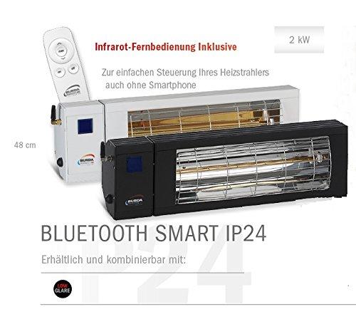 SMART BLUETOOTH IP24, 48cm 2.000 Watt Weiss - 3