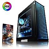 Vibox VBX-PC-278344 Gaming Desktop PC (Intel Core i3 8350K, 1000GB Festplatte, 8GB RAM, NVIDIA GeForce GTX 1070, kein Betriebssystem) Schwarz (Haushaltswaren)