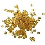 MagiDeal 1 Bolsa de Confeti de Tabla para Fiesta de Cumpleaños Impreso con Número de Edad Decoración de Aniversario de Boda Color de Oro 6 Tipos - 50