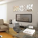 32-pcs-Pegatina-de-pared-adhesivo-acrilico-de-espejo-color-plata