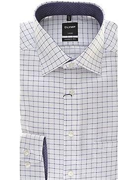 OLYMP - Camisa casual - Cuadrados - Clásico - para hombre
