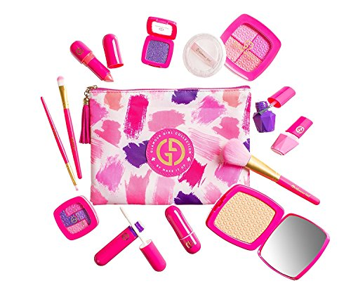 Makeup Set For Children by Glamour Girl Pretend Play Make up Kit Great For Little Girls and Kids High Quality by Glamour Girl (Für Kinder Make-up-kit)