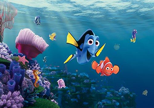 AG-Design-Finding-Nemo-Disney-4-Part-Photo-Mural-Wallpaper-Multi-Colour-360-x-254-cm