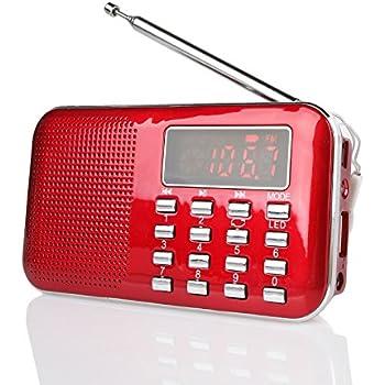 XHDATA® D-38 FM-Stereo / MW / KW / MP3-Player: Amazon.de