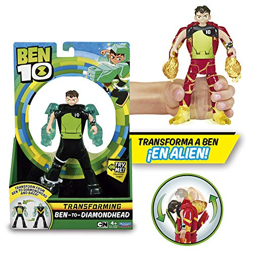 BEN 10 - Action Figure BEN Transformable in Alien (Giochi Preziosi BEN28000)