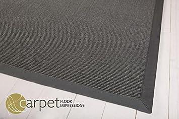 sisal küchen teppich mexico (041045 dunkelgrau bodüre dunkelgrau ... - Teppiche Für Die Küche