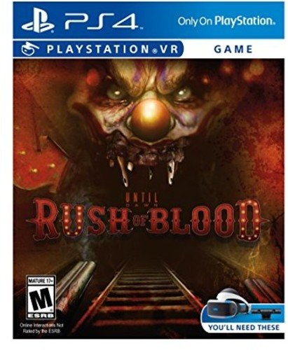 Sony Until Dawn Rush Blood PS4 VR Básico PlayStation 4 vídeo - Juego (PlayStation 4, Tirador/Horror, M (Maduro))