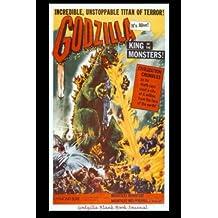 "Godzilla Blank Book Journal: 6 x 9"", lined"