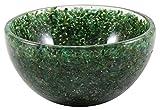 HARMONIZE Natural Nefrite (Giada) Bowl Pietra Intagliato a Mano delle Pietre preziose generatore di energia di Cristallo Reiki Healing