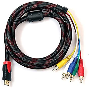 DIGIFLEX HDMI Stecker auf 5 RCA Cinch RGB Audio Video