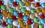 Cristales de colores decorativos (50 unidades, 13 - 15 mm, 110 g)