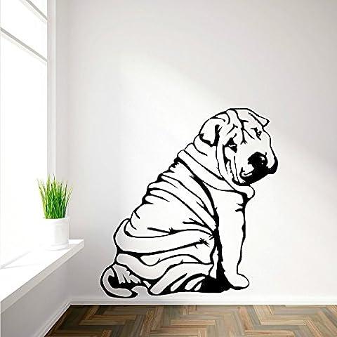 Shar-Pei Sharpei Art Adesivo da parete