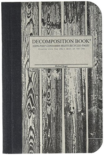 Beachwood Pocket-Size Decomposition Book: College-Ruled Composition Notebook With 100% Post-Consumer-Waste Recycled Pages