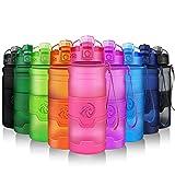 Best Bottiglie di acqua per le scuole - ZORRI Bottiglia d'acqua sportiva senza BPA - riutilizzabile Review