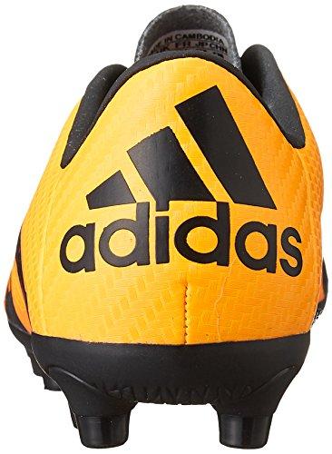 adidas - X 15.3 Hg J, Scarpe da calcio Unisex – Bimbi 0-24 Multicolore (Varios colores (Amarillo / Negro / Rosa (Dorsol / Negbas / Rosimp)))