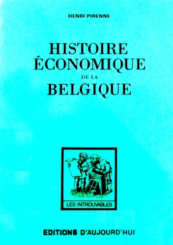 Histoire economique de la belgique