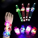 #10: RIANZ All New Birthday Return Gifts For Kids Assorted Cartoon Characters Led Light Bracelets - Friendship bands - Rakhi (Set of 24)