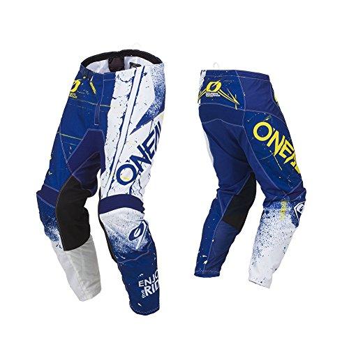 O'Neal Element Shred Motocross Hose MX Motorrad Downhill MTB Mountain Bike Cross Enduro, 010E-Adult, Farbe Blau, Größe 38 -