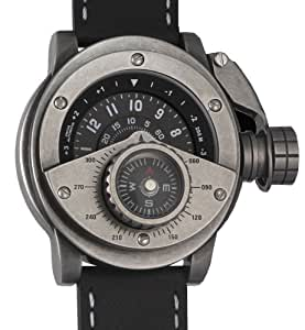 Retrowerk Automatic Diver watch with compass-Swiss-ETA-2824 movement