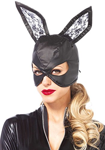 Leg Avenue 3745 - Faux leather bunny mask, Einheitsgröße ()