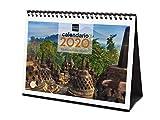 Finocam - Calendario de sobremesa 2020 Imágenes Maravillas del Mundo español