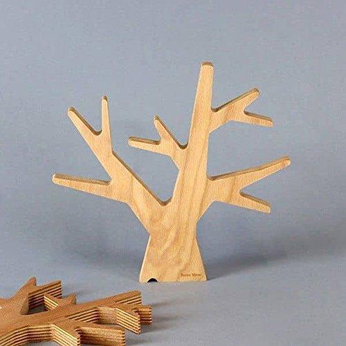 MDS l'arbre, Dessous de Plat, multiplis hêtre, Design éco-Responsable - Petit modèle, 187 x 200 x 20 mm (Longueur x Largeur x Hauteur)