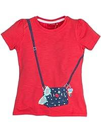 Salt & Pepper Smile Print Tasche, T-Shirt Fille