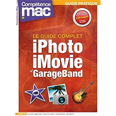 iPHOTO, iMOVIE ET GARAGE BAND